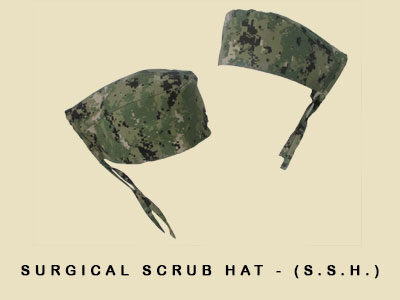 Surgical Scrub Hat - (S.S.H.)
