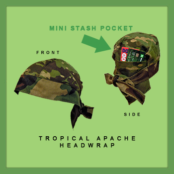 Tropical Apache Headwrap